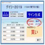 【大勝ち】デイリー2019V2のお祭り相場!月間成績+2000!